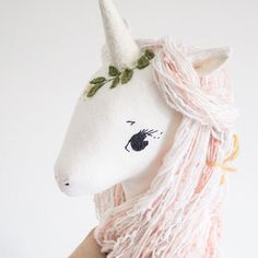 She's waiting for a dress 🦄✨ Doll Toys, Pet Toys, Diy Y Manualidades, Unicorn Doll, Cute Stuffed Animals, Sewing Toys, Animals For Kids, Birthday Decorations, Art Dolls
