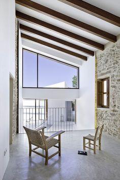 Can Manuel d'en Corda Formentera Marià Castelló Architecture Contemporary Architecture, Interior Architecture, Interior Design, Mid-century Modern, Modern Rustic, Spanish House, Beautiful Space, Home Renovation, Minimalism