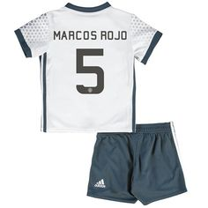 Manchester United Cup Third Baby Kit 2016-17 with Marcos Rojo 5 printi: with Marcos Rojo 5 printing #sports #sportsshopping #sportswear