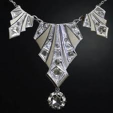 Jewelry with rose cut diamonds