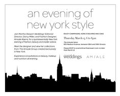 So excited to be hosting with @Martha Stewart Weddings Magazine tonight with some amazing wedding vendors. @Fekkai Blow Out Bar, @Chantecaille and @Butterfly Bakeshop. Join in the conversation #BridesNiteOutNYC