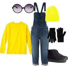 Minion Costume... I just want the #Overalls !!