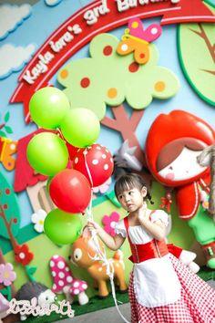 Little Red Riding Hood Party with Such Cute Ideas via Kara's Party Ideas | KarasPartyIdeas.co #BigBadWolf #Party #Ideas #Supplies (28)