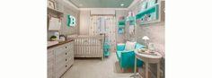 Um quarto para gêmeos - Quartos Etc