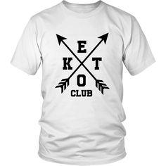 Keto Club X (Homme) Club, Dimensions, Keto, Mens Tops, T Shirt, Fashion, Welcome, Supreme T Shirt, Moda
