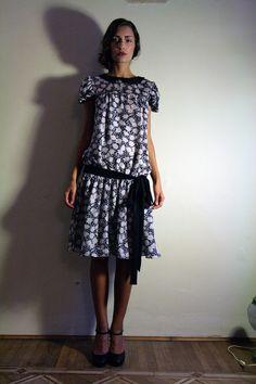 Styled by Elena Massari  http://www.etsy.com/listing/91076484/deco-dress?ref=v1_other_2