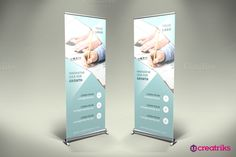 Business Roll Up Banner - v019 by Creatricks on @creativemarket