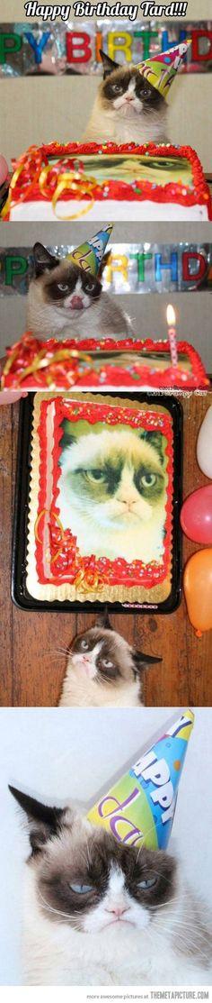 Cumpleaños Grumpy ...