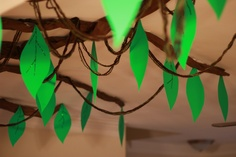 Close Up Tree Safari Theme Birthday Party