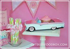 Cute food box, party box, goodie box, treat box!