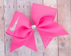 Cheer Bow Coral - Coral bow - gifts for cheerleaders - cheer team - cheerleading…