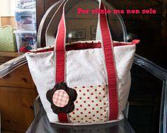 Per sfizio ma non solo: Cucito creativo - borsa a spalla con manici in cordura