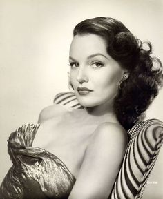 Dorothy Hart 1940's- @makeupbymf want to look like this #stunning