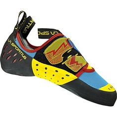 La Sportiva Oxygym Rock Shoe - Men's Climbing shoes 47 Blue/Red *** Check out the image by visiting the link.