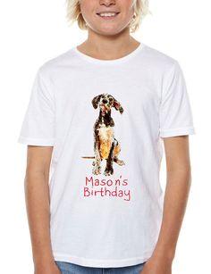Dog Iron On Transfer Shirt  Dog Birthday DIY by DigitalArtMovement