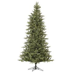 15 Slim Green Elk Frasier Fir Artificial Christmas Tree  Unlit *** More info could be found at the image url.