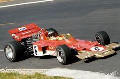 1970 Jochen Rindt, Gold Leaf Team Lotus, Lotus 72 Ford