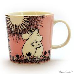 Mug cup, Arabia (アラビア) / Moomin (ムーミン) マグ ムーミン&フローレン PK