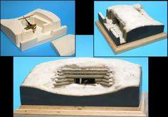 DOLP - Modellbau, Top, Shop, Bunkermodelle 1/72, B 7203 - Schartenstand (Blockhausbunker)