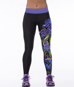Echoine Women Yoga Pants <font><b>Sport</b></font> Fitness Tights Slim Leggings Running Sportswear Quick Drying Out <font><b>Wear</b></font> Digital Print Leggings 2016. ** See more by clicking the image