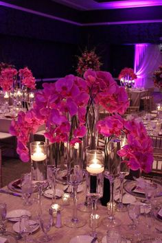 Daily Wedding Flower Ideas (New!). To see more: http://www.modwedding.com/2014/08/01/daily-wedding-flower-ideas-new/ #weddings #wedding #centerpiece #reception #bouquet Featured Floral Design: Blooming Bouquet Floral Designs
