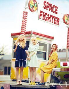 Korean girl group Red Velvet in CeCi Magazine