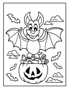 Fall Coloring Sheets, Free Halloween Coloring Pages, Fall Coloring Pages, Coloring Pages For Boys, Coloring Books, Coloring Stuff, Kids Coloring, Halloween Crafts For Kids, Diy Crafts For Kids Easy