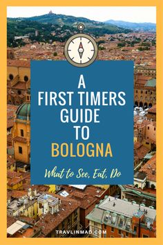 Bookmark this Guide to Bologna, Italy for ideas on the best of what to see, eat, and do! | First Timers Guide to Bologna, First Time to Bologna, Italy,  Eating in Bologna, Food in Bologna, What to eat in Bologna, Quadrilatero Bologna, Cheese Modena, Best Bologna Food Tour