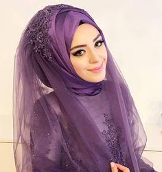 Very beautiful face. Very beautiful face. Muslim Wedding Gown, Hijabi Wedding, Wedding Hijab Styles, Wedding Evening Gown, Hijab Wedding Dresses, Bridal Hijab, Hijab Bride, Hijab Style Tutorial, Hijab Style Dress