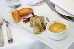 Amazing culinary delights in hospitality from Chris Wheeler throughout The Boodles 2015
