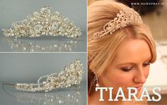 Royal Tiara No. 7 Wedding Tiaras, Royal Tiaras, Special Occasion, Things To Come, Sparkle, Bride, Crystals, Handmade, Inspiration