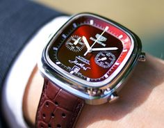 :) unique, TAG Heuer SIlverstone- Red Limited Edition 1 of 1 with Jack Heuer's signature #watches
