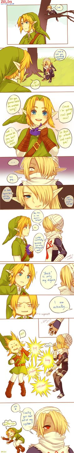 Zelda -- Can't keep a secret by onisuu on deviantART