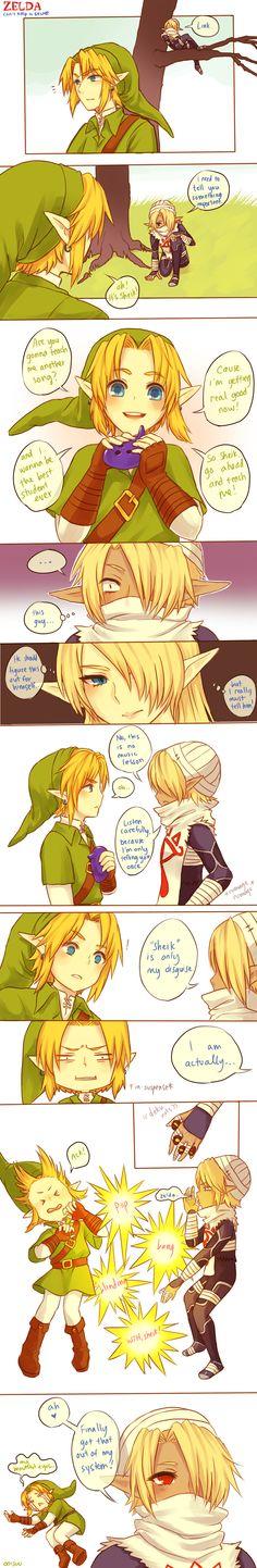 Zelda -- Can't keep a secret by onisuu on deviantART