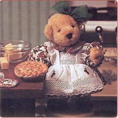 I have cherry pie Muffy Mazur Villacis Remember your Muffy Bears? Vintage Teddy Bears, Vintage Toys, Childhood Friends, Childhood Memories, Ted Bear, Teddy Bear Pictures, Love Bear, To My Daughter, Dolls