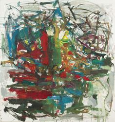Intriguing how and why this famous Abstract Expressionist artists works continue to stand out from the rest:  Artist: Joan Mitchell