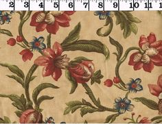 Antique Floral Fabric Moda Blessings 2000 Quilting 100% Cotton BTY Home Decor