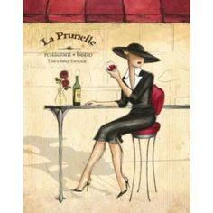 Posterazzi Femme Elegante IV Canvas Art - Andrea Laliberte (22 x 28)