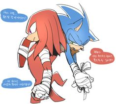 Knuckles and sonic (Sonic boom) Sonic The Hedgehog, Silver The Hedgehog, Shadow The Hedgehog, Yuri, Sonic & Knuckles, Sonic The Movie, Sonic Funny, Sonic And Amy, Sonic Sonic
