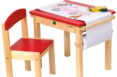 Three Art Tables for Young Kids