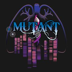 Another design inspired by me and my health.  I have Cystic Fibrosis and my friends, family, and a few doctors  have called me a mutant...and it stuck!  (on black) Available as a tee shirt or a hoodie at http://www.redbubble.com/people/cfdunbar/works/11166952-respiratory-mutant?c=251323-mutant-series&p=t-shirt&ref=work_carousel_work_collection_2