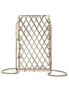 Anndra Neen Cage iPhone Case, $425; anndraneen.com