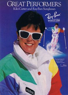 Rayban 80's poster