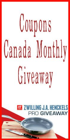 Enter our #CouponsCanada Monthly #Giveaway for your chance to #win a #Zwilling J.A. Henckels Breakfast Set
