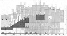 In 1970, Spanish architect Ricardo Bofill and his Taller de Arquitectura worked on a huge housing complex called La Ciudad en el Espacio (The City in the Space) which could acquire the characteristic of a whole neighborhood and provide the basis for a reflexion on the idea of city. Conceived to...