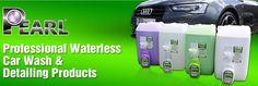 Pearl Waterless Green Clean Solutions... Spray it, Wipe it, #Love it.