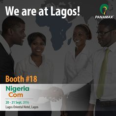 #NigeriaCom is all happening NOW!! Swing by Booth #18 to say hello! #Panamax #Telecom #events #Nigeria #Africa #technology #Tech #FinTech