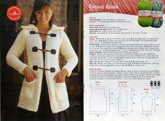 Artesa Alessandra Nascimento: casacos em tricot com receita