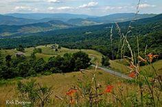 German Valley, Pendleton County, West Virginia by Rick Burgess