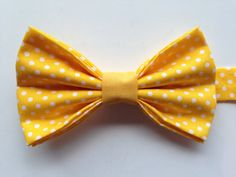 Kids Yellow Polka Do